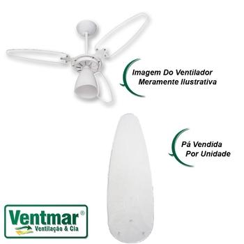 Pa Helice Ventilador de Teto Ventisol Wind Light - Ventisol Pétalos - Pá Plástica Reta ACRÍLICA - Vendida p/Unidade