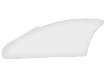 Pá Hélice Ventilador Loren-Sid - Modelo Facão Iris Transparente P07I/TR - *Vendida p/Unidade