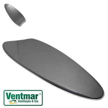 Pá Hélice para Ventilador de Teto Ventisol Aires - MDF Dupla face Titânio/Tabaco - Vendida p/Unidade - Ventilador Fharo - Ventilador Versatti