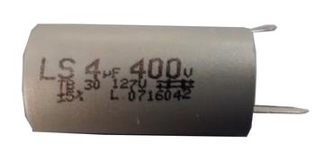 Capacitor de Partida 04,0uf 400vac com Terminal CAP004,0