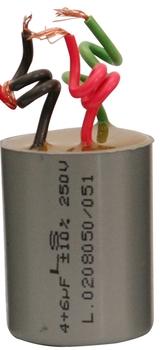 Capacitor de Partida Ventilador de Teto 3Vel 3fios 04,5uf (01,5 + 03,0 = 04,5uf) 250VAC CAP004,5