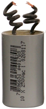 Capacitor de Partida Ventilador de Teto 2Fios 12uF 380/400VAC