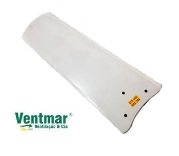 Pá Hélice Para Ventilador De Teto Venti-Delta Light Branca 3Furos - Madeira MDF Reta - Vendida P/Uni