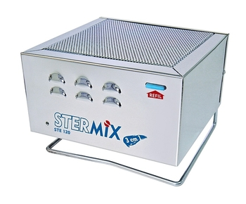 Esterilizador de Ar Stermix STE-120A - Inox Bivolts - p/Até 50m2 - Ste 120A Bivolts Inox - Stermix
