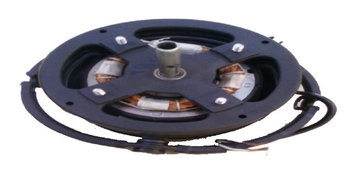 Motor do Ventilador de Teto Loren Sid Orbital 40cm Preto 127V - Usar c/Capacitor 06,0UF 440VAC Eixo
