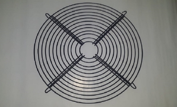 Grade de Climatizador FOG1 FOG3 Traseira - Metal - GRADEEBONE