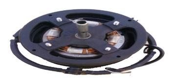 Motor do Ventilador de Teto Loren Sid Orbital 40cm Preto 220V - Usar c/Capacitor 04,0UF 440VAC Eixo