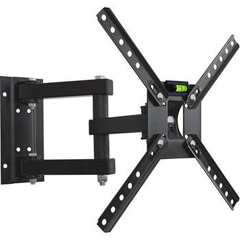 Suporte para fixar TV na Parede - Modelo Tri-Articulado com Inclinação para TV LED, LCD, Plasma, 3D e Smart de 10 até 55