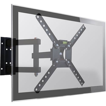 Suporte para TV Parede Tri-Articulado para TV LED, LCD, Plasma, 3D e Smart de 10 a 55 SBRP140 - Brasforma