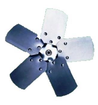 Helice para Exaustor ARGE 50cm 5Pas - Encaixe Eixo de 10 mm com Parafuso Lateral - HEL EXA ARGE50CM