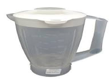 Copo para Liquidificador Arno Faciclick - Arno Faciclic - Arno Faciclic Pro - Plástico Translúcido - Residencial Faciclick - Clic Pro - Delrin