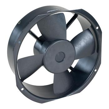 Exaustor 26cm Bivolts - Microventilador Axial Rax 2CD Ventisilva - Vazão 1.404m3h - Carcaça Aluminio 256x265x85mm