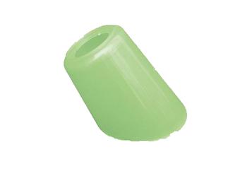 Globo Cúpula para Ventilador de Teto Tipo Tulipa Plástica Pata cor Verde - GLOBOPL TULIPAPATA