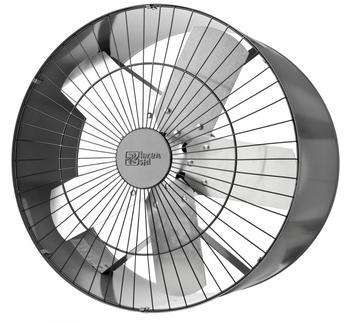Exaustor Loren Sid 50cm Bivolts 110/220v Monofásico - Vazão 6.000m3/h - c/Chave de Reversão - (OCP-0018)
