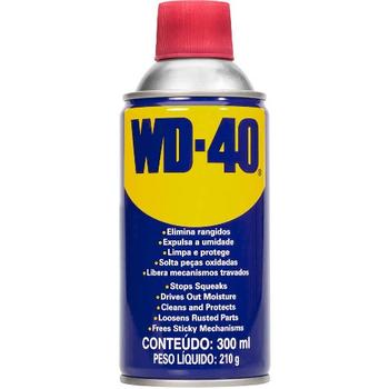 Anti-Ferrugem WD 40 Lubrificante Spray - WD-40 Aerosol - 300ml WD40