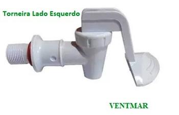 Torneira para Purificador Latina - Vendida p/Unidade - PA335, BR335, PURITRONIC, PURI-ICE, PURIMIX - Lado ESQUERDO Água NATURAL
