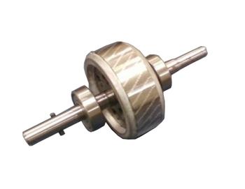Rotor Ventilador Arge Max 60cm - Encaixe da Hélice 10mm - Encaixe p/Rolamentos 6201 11mm + Pino Trav
