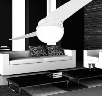 Ventilador de Teto Spirit 202 2Pás Branco 127V c/Luminária p/2-Lâmpadas Chave 3Velocidades - *LIQUIDAÇÃO - ÚLTIMAS UNIDADES*