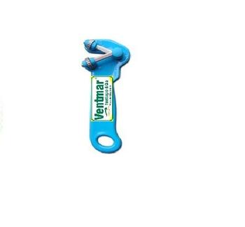 Afiador de Facas Manual Doméstico Suprakorte Azul - Afiador Supra Korte - VENTMAR