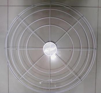 Grade do Ventilador VENTISILVA Dianteira Branca 65cm Metal - Grade Aberta - GRADEVSV - GRADEVO