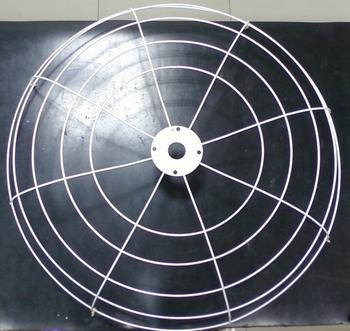 Grade do Ventilador VENTISILVA Traseira Branca 65cm Metal - Grade Aberta - GRADEVSV - GRADEVO