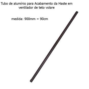 Acabamento Tubo de Alumínio do Ventilador de Teto VOLARE Café 90cm VLR