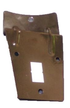 Garra Suporte das Pás do Ventilador de Teto Volare- Preta - Preço p/Unidade - GARRAVLR VLR