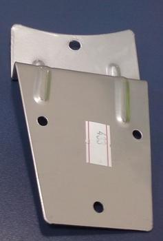 Garra Suporte das Pás do Ventilador de Teto VOLARE - Cor Cinza Prata Titânio - Vendida p/Unidade - G