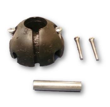 Rótula De Nylon Superior Do Suporte Para Ventilador De Teto VOLARE - Kit Superior c/Pino+4Parafusos