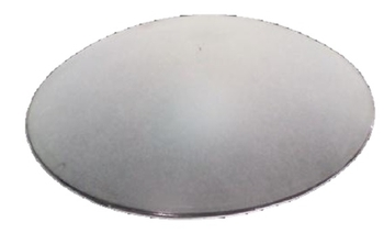 Globo Cúpula Vidro para Ventilador SPIRIT 203 / 303 - Diâmetro Externo: 17cm / 170mm