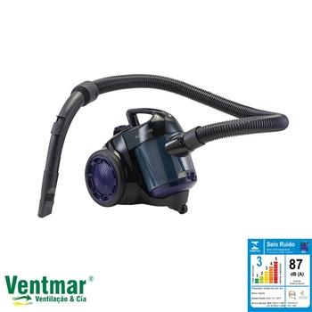 Aspirador de Pó Ciclone e Filtro Hepa 1500W Agratto PRATICCI ACZ Roxo 127V