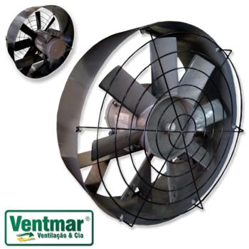 Exaustor Serviço Pesado Industrial 57cm Ventisol Bivolts 110/220v Vazão 15.000m3/h - 8Pas em Metal -