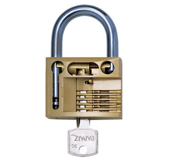 Cadeado CR50 Gold / Pado / Papaiz / Soprano - Cadeado 50mm - Será enviado a peça da Marca disponível em nosso estoque.