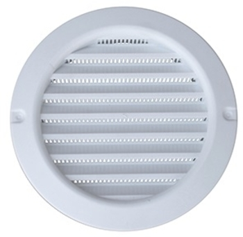 Grade Veneziana 15x15cm 150mm Plástica para Ventilação de Superfície - Medidas 150mm - Grelha Plástica