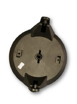 Suporte de Teto Ventilador Loren Sid Orbital Preto - Suporte De Fixação Do Ventilador De Teto 50cm O