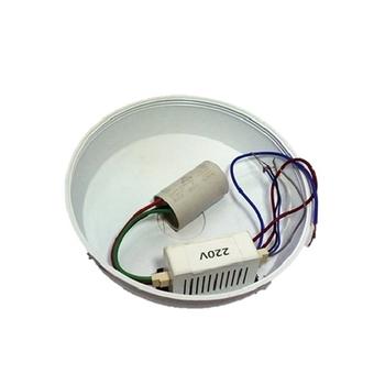 Módulo Receptor do Controle Remoto Venti-Delta Lunik Efyx - 220V c/Cap. 03,0uF (1,7+1,3mF) c/Canopla Efyx Lunik - *Apenas o Módulo Receptor*