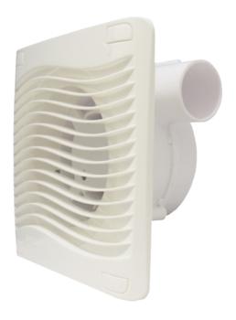 Exaustor de 09cm para Banheiro e Ambientes até 06m2 09cm 127V18W Vazão 300m3h - Renovador de Ar ITC Turbo *ÚLTIMA PEÇA