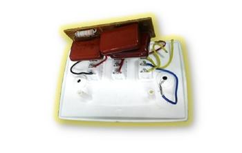 Chave para Ventilador Aliseu 3Velocidades Reversão 1Luz 110v - D/G/J/N/S/T/W - Espelho SEM Capacitor