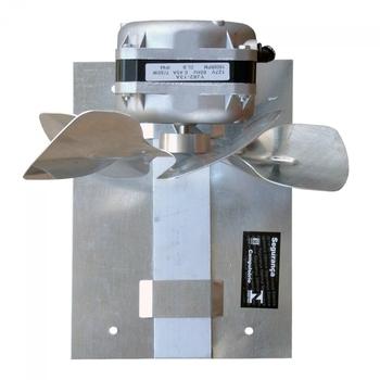 Exaustor de 20cm para Churrasqueira 127v Vazão 570m/h Diametro 200mm - Exaustor ITC ED104