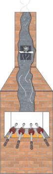 Exaustor para Churrasqueira - Diâmetro 20cm Vazão 570m/h 127Volts - Exaustor ITC ED104 - Exaustor para Coifas/Cozinhas