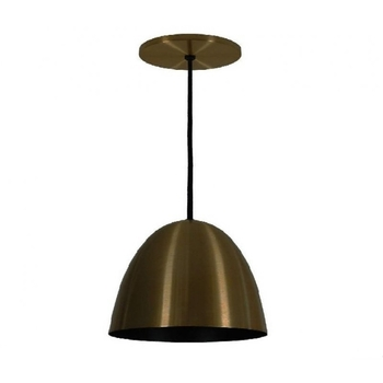 Luminária Pendente 1816 Volare Metal Bronze prelúdio 270mm 1xE27 - 52755 TKS Iluminação - Prelúdio Iluminação