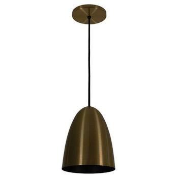 Pendente Luminária Volare 1818 Metal Bronze 180mm 1xE27 - 50758 TKS Iluminação - Prelúdio Iluminação
