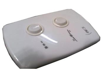 Chave para Ventilador de Teto Air Design 127V08,0uF 3,0+5,0mF 3Velocidades SEM Tecla p/Luz - Ventilador Venti-Delta NEW LIGHT - Ventilador LATINA