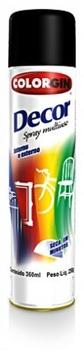 Spray para Pintura Cor Preto Brilhante 350/400ml -  VÁRIAS MARCAS*