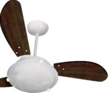 Pá Hélice para Ventilador Ventisol FÊNIX - SUNNY - ANA MARIA - 01-Pá Tuba MDF Tabaco - Unidade = 1Pá