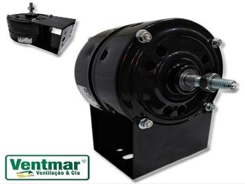 Motor para Climatizador EBONE Fog3 220v 130/150W 1/5CV 2P 3517/3617rpm - Lado do Disco Pulverizante - Eixo Rosca 9,0mm