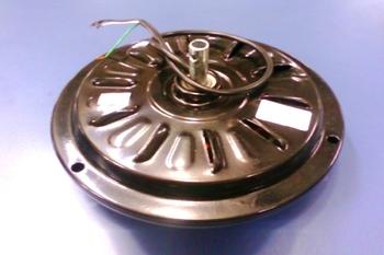 Motor do Ventilador de Teto LOREN SID M2 127v Preto - Motor para Ventilador Com ou SEM Luminária - Usar c/Capacitor 10,0uF