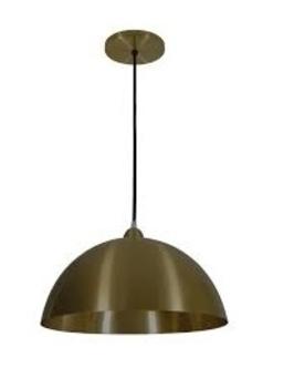 Luminaria Pendente 1803 Bronze Preludio Volare 1803 Metal cor Bronze (Ø370MM) 1XE27 - 51857 TKS Iluminação - Prelúdio Iluminação