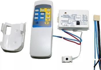 Controle Remoto Para Ventilador de Teto Bivolts p/até 170W - Kit PW Eletrônica - Atende Vários Modelos de Ventiladores - Controle Remoto Infravermelho