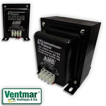 Auto Transformador de Voltagem 5.000VA AMB Bivolts - Transformador de Voltagem para Ar Condicionado